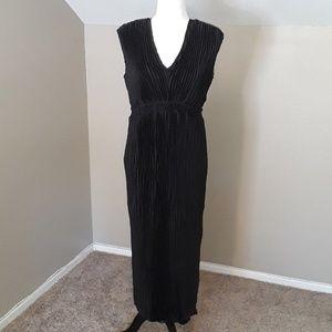 Romeo & Juliet Couture Black Chiffon Dress
